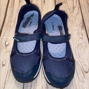 LL Bean Hiking Water Evacuation System shoes